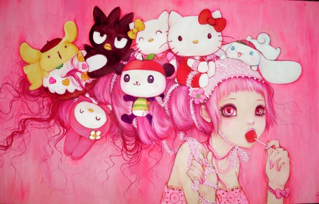 Hello_Kitty_Art_Show_by_camilladerrico