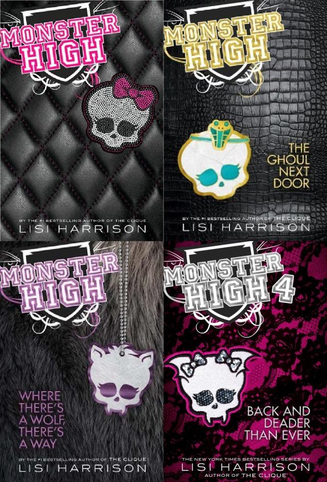 MonsterHigh4books