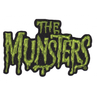 Munsters Iron On patch - make the mundane creepy