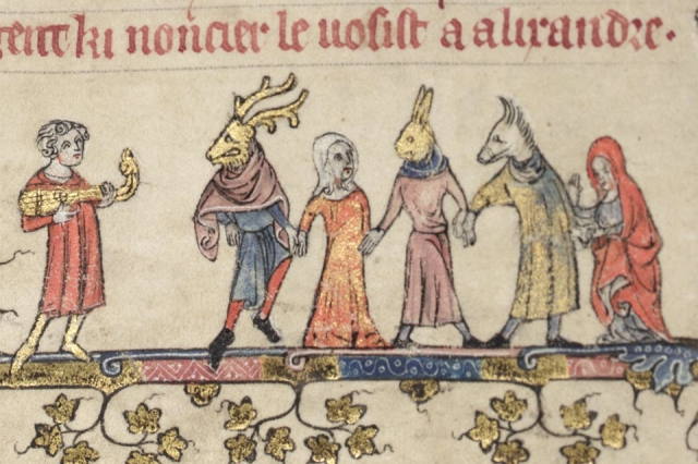 Mummers-Source-Bodleian-Library-MS-Bodl-264-fol-22r-Wikipedia